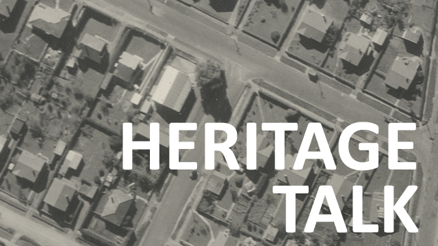 Heritage Talk History of a house